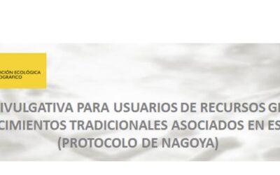 Jornada divulgativa para usuarios de recursos genéticos y conocimientos tradicionales asociados en España – Protocolo de Nagoya