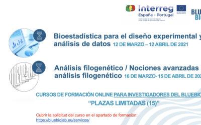 """Las inscripciones para los cursos """"Bioestadística para el diseño experimental y análisis de datos"""" y """"Análisis filogenético / Nociones avanzadas de análisis filogenético"""" están abiertas"""