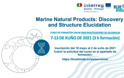 El BLUEBIOLAB presenta el curso Marine Natural Products: Discovery and Structure Elucidation