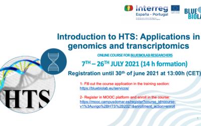 El BLUEBIOLAB presenta el curso Introduction to HTS: Applications in genomics and transcriptomics