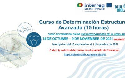 """El BLUEBIOLAB presenta el curso """"Determinación estructural avanzada"""""""