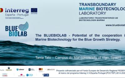 Presentación del BLUEBIOLAB en el 25th Congreso Europeo de Biotecnología
