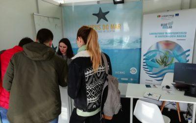Presentación del BLUEBIOLAB en el II Foro de Empleo de la Universidad de Vigo – 19-20 de febrero de 2019