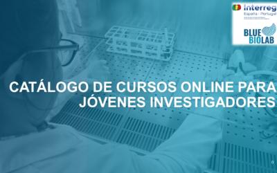 Cursos online oferecidos no campo da Biotecnologia Marinha para jovens investigadores