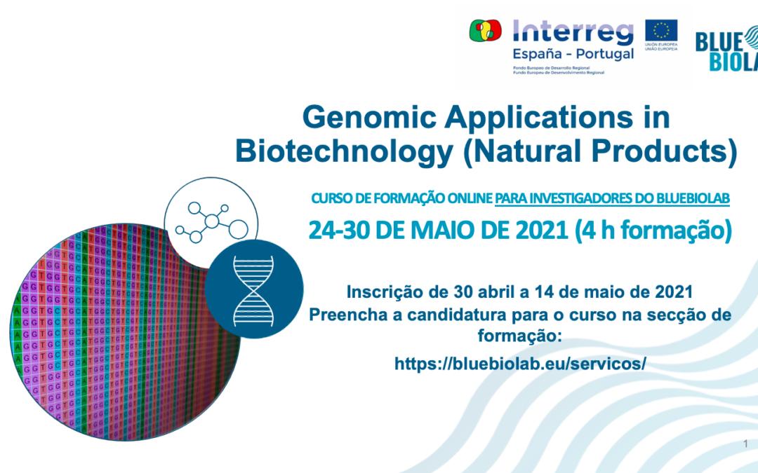 O BLUEBIOLAB apresenta o curso Genomic Applications in Biotechnology (Natural Products)