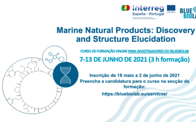 O BLUEBIOLAB apresenta o curso Marine Natural Products: Discovery and Structure Elucidation
