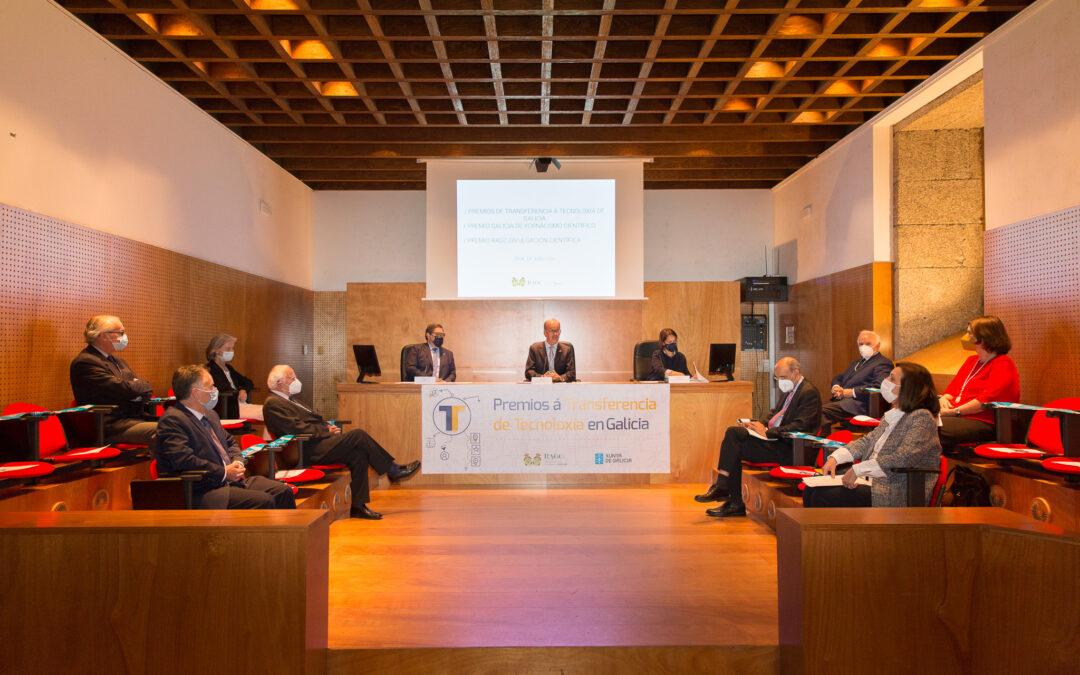 """Prémios """"Transferencia de Tecnoloxía en Galicia de Real Academia Galega de Ciencias (RAGC)"""" para investigadores de BLUEBIOLAB"""
