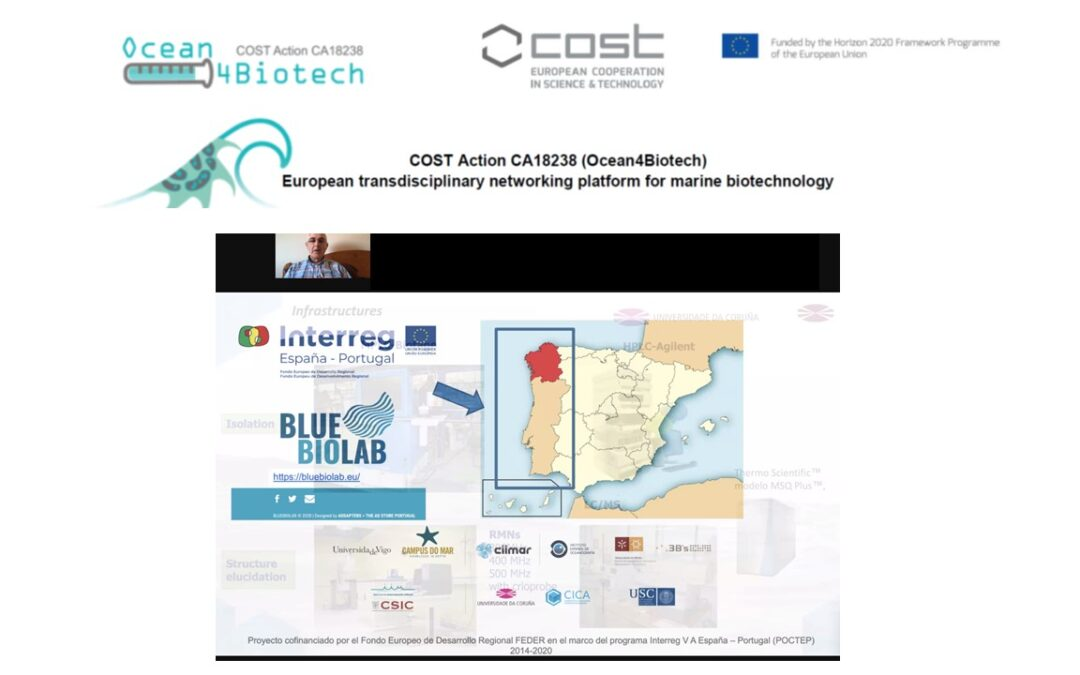 CICA-UDC apresenta o BLUEBIOLAB no Workshop da COST Action Ocean4Biotec