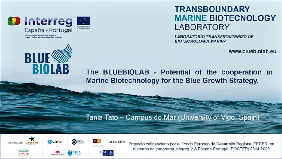 Apresentação do BLUEBIOLAB no 25º Congresso Europeu de Biotecnologia